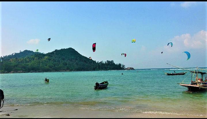 kitesurfing koh phangan - chaloklum