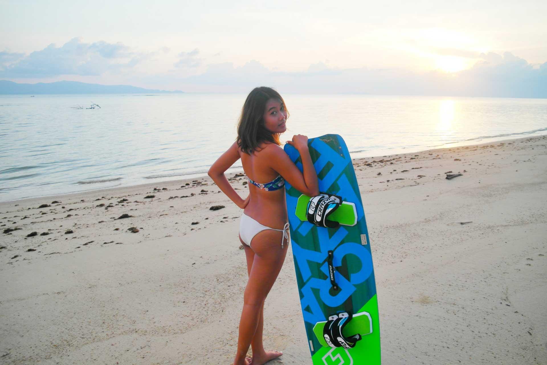 kitesurf paradise - girl