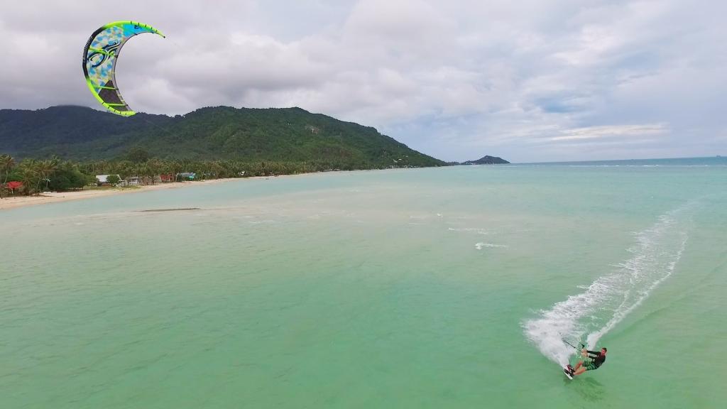 kitesurf paradise - kitesurfer