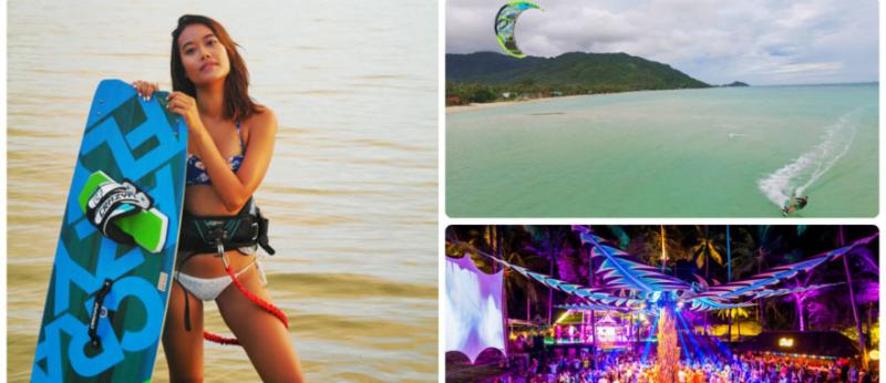 kitesurf paradise koh phangan