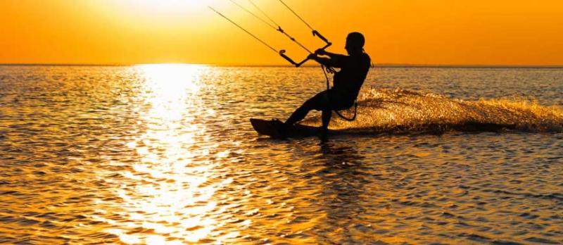 kiteboard koh phangan - sunset