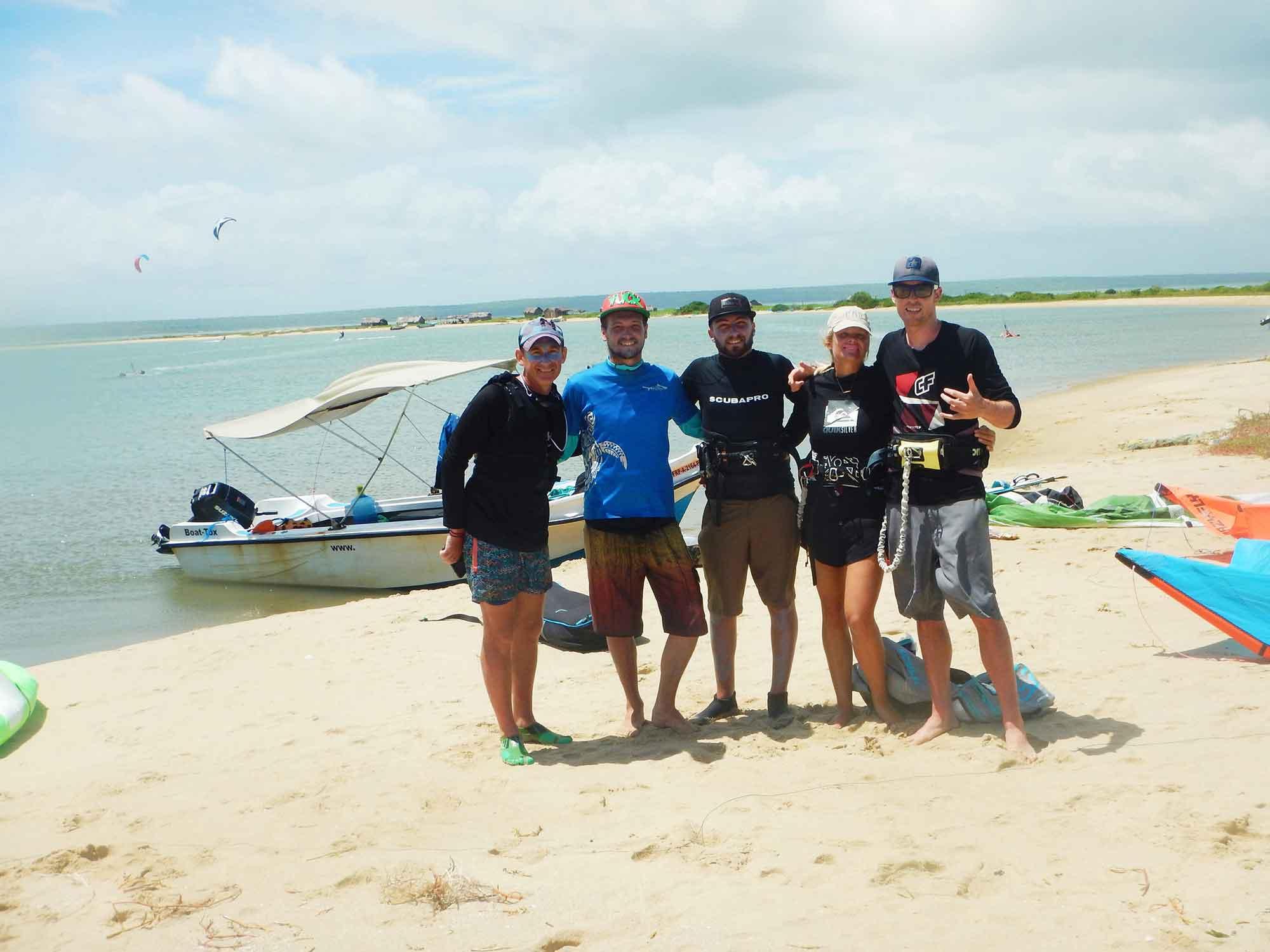 kitesurf school koh phangan - the team