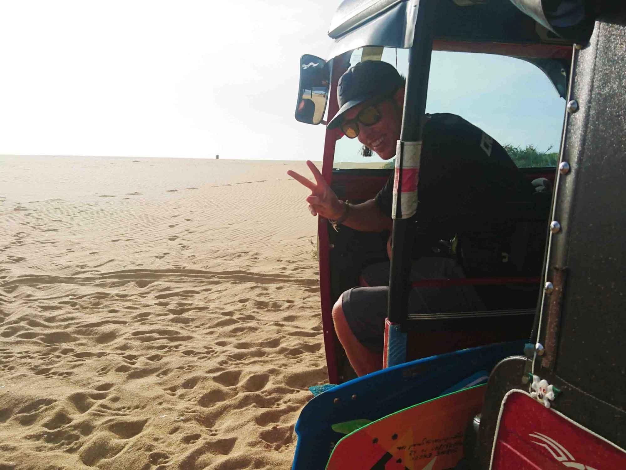 kitesurf school koh phangan - tuk tuk srilanka