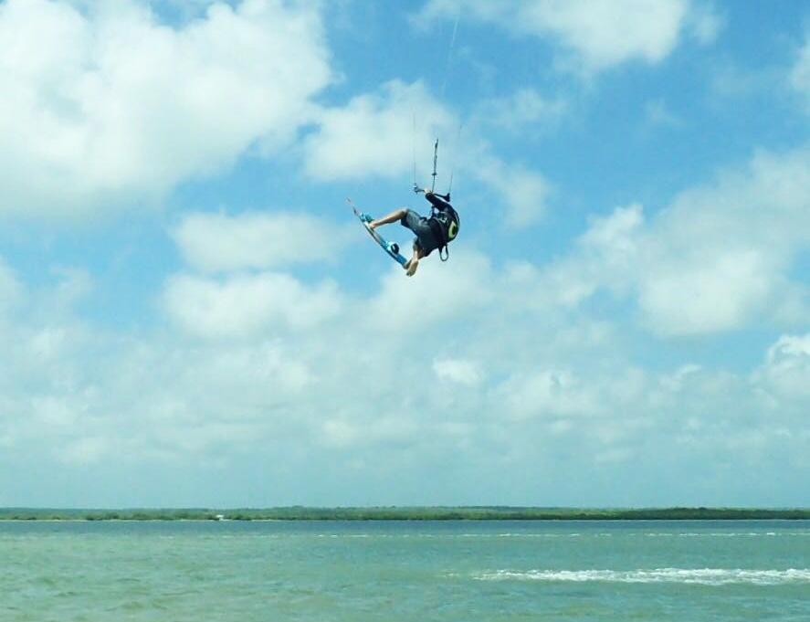 kitesurf school koh phangan - trick