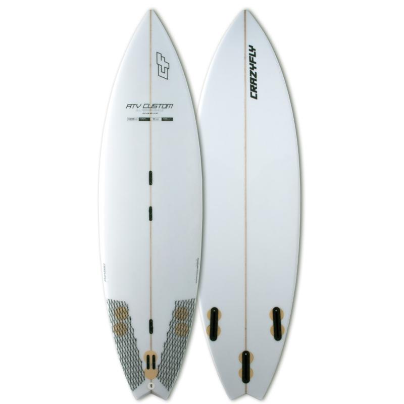 crazyfly ATV custom surf board