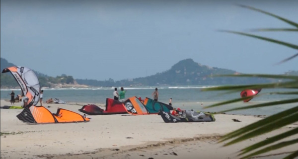 Kiteboarding on Koh Samui - Thailand