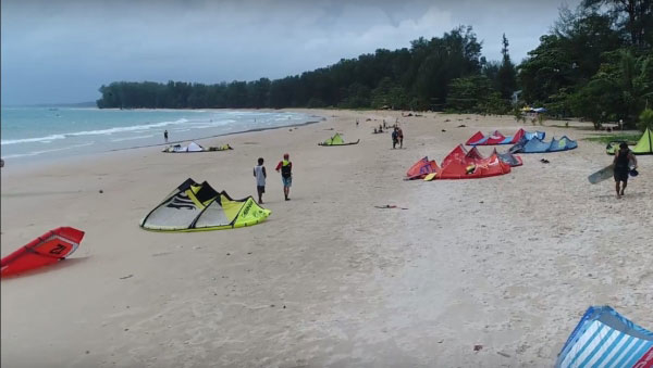 Kiteboarding on Phuket - Thailand