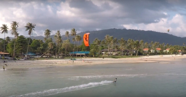 Kitesurfing on Koh Samui - Thailand