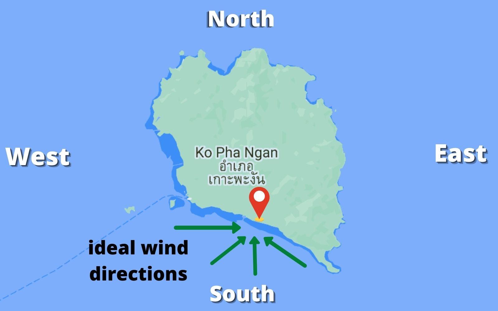 Koh Phangan live weather